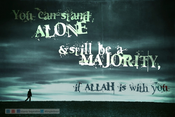 A Lone Majority